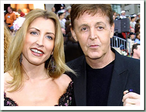 Paul McCartney dan Heather Mills