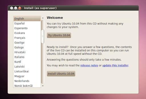 Ubuntu 10.04 Lucid Lynx Beta 1 Screenshots