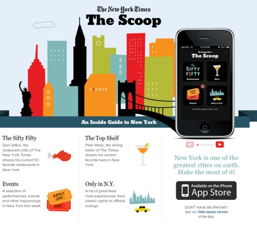 The Scoop, una guia de New York