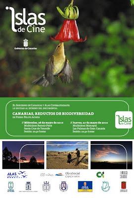 """Cartel de """"Canarias, reductos de biodiversidad"""""""