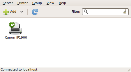 Add Printer Dialog