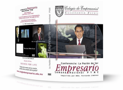 LA PASIÓN DE SER EMPRESARIO, Fernando Jiménez