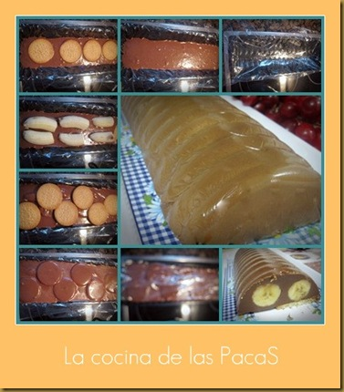 collage pastel de choco