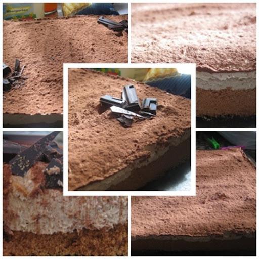 collage tarta mouse café