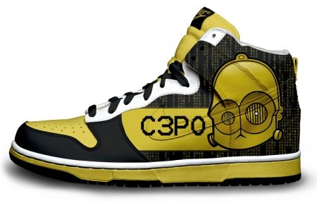Gambar : Nike-shoes-design-C3PO