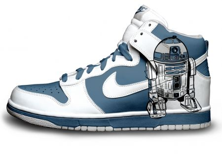 Gambar : Nike-shoes-design-R2D2