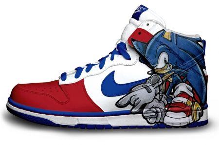 Gambar : Nike-shoes-design-sonic-hedgehog