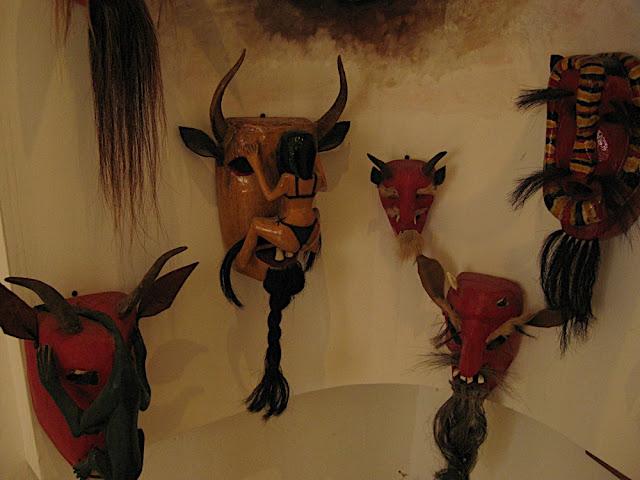 Máscaras pames para carnaval