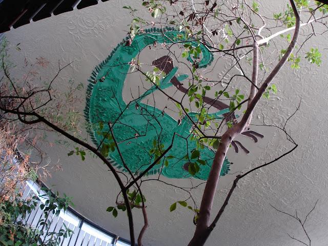 Kameleon na suficie - Zoo Płock