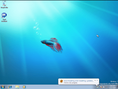 First look at Windows7