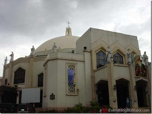 Exterior front of Antipolo Cathedral