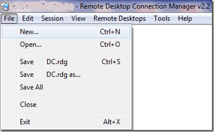 Manage Multiple RDP connections with RDCMan   Krishna