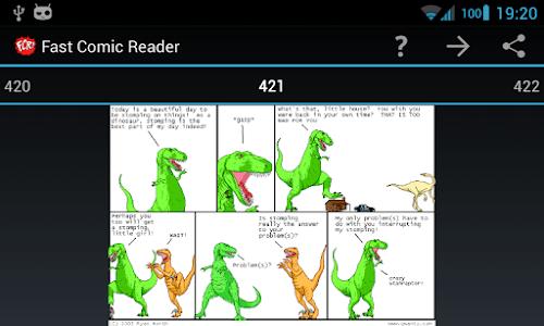 Dinosaur Comics plugin for FCR screenshot 0