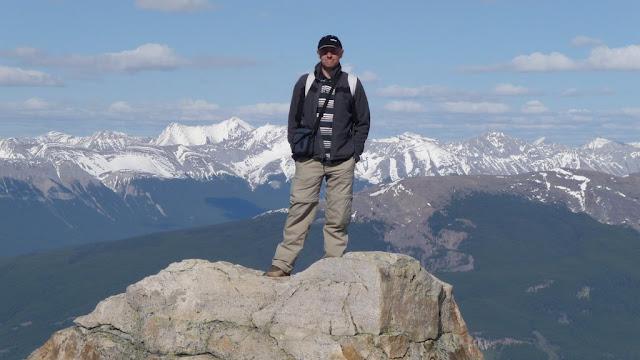 Op Whistler Mountain in Jasper