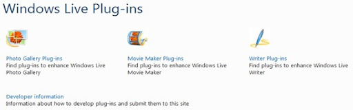 plugins windows live