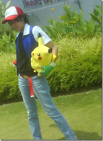 pokemon cosplay - satoshi aka ash ketchum