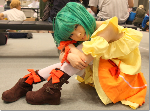 macross frontier cosplay - ranka lee 03 from comiket 2010