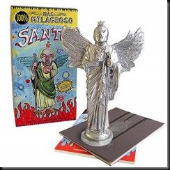 santo y libro