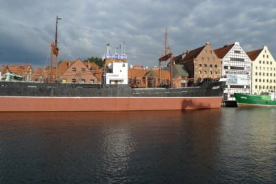 Big ship, Gdansk, Poland