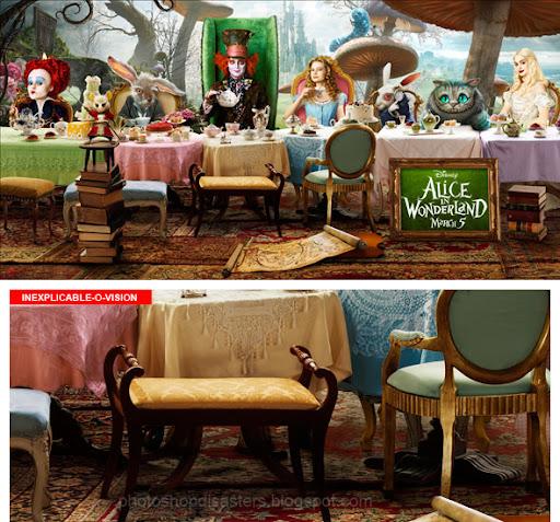 Alice perd pied... au pays des merveilles