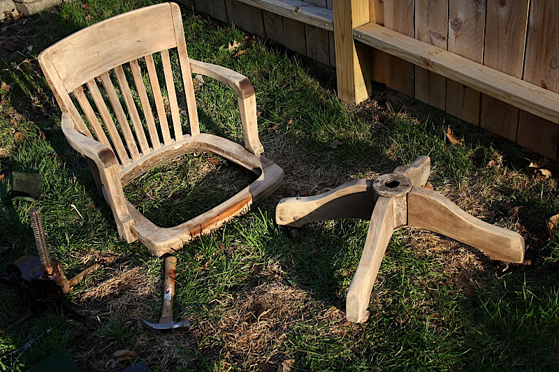 after all if i didnu0027t like it it would be easier to paint over stain than it would be to strip the paint and stain the chair