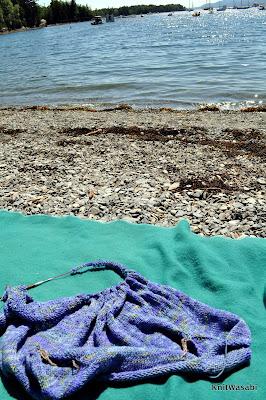 beach knitting