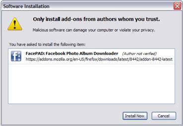 facepad install