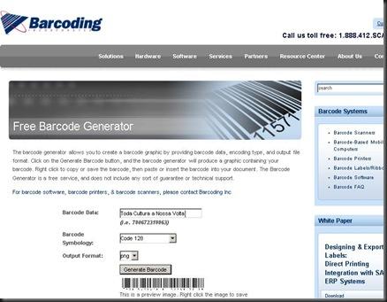 TCaNV barcodeII