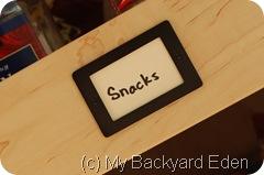 Snack label