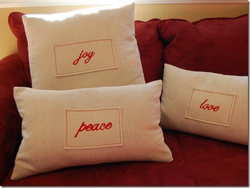 """""""Pottery Barn"""" Pillows"""