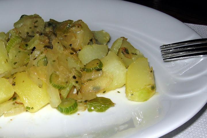 Koromač s krompirjem