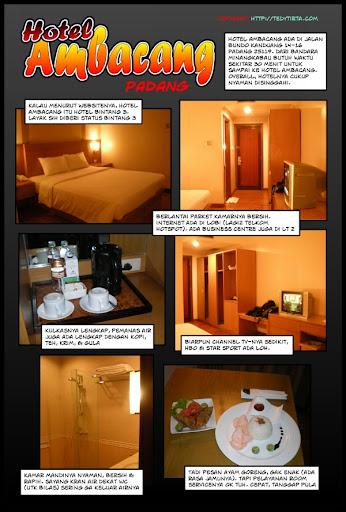 Hotel Ambacang Dalam Sebuah Komik