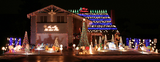 Best Christmas Light Displays In The OC Belquest Drive In