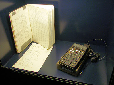 Deutsches Museum HP-41CX exhibit