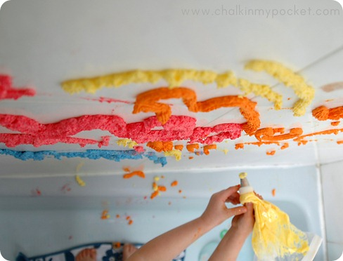 preschool 3d paint recipe