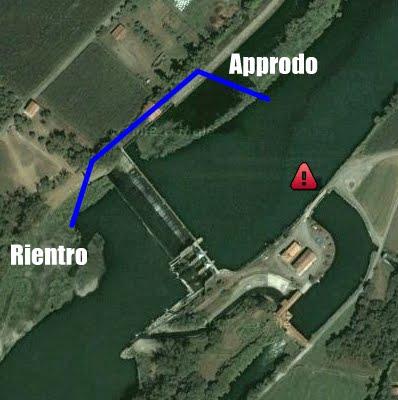 La diga di Sant'Anna