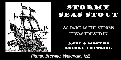 Stormy Seas Stout from Pitman Brewing