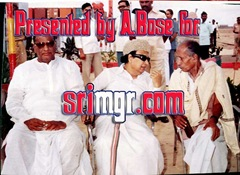 MGR in Madras Port