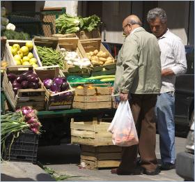 Sizilianische Küche - Gemüse – Spiegel der Jahreszeiten in der sizilianischen Küche