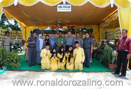 Musyawarah Perencanaan Pembangunan Musrenbang 2010 di Kecamatan Kuantan Tengah SMAN Pintar Mengikuti Stan Bazar