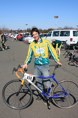 Scott (UVM) and his bike