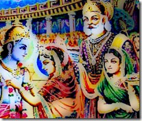 Sita Devi with her parents and husband