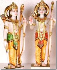 Rama Lakshmana deities