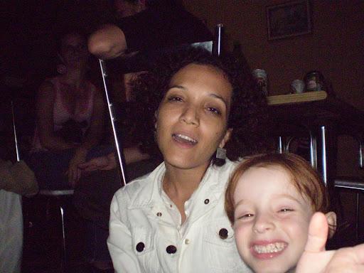 Eu e Ms Demosul (filha do Marcelo Domingues), em passagem por Londrina em 2007