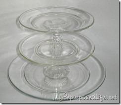 glass dessert plate 1