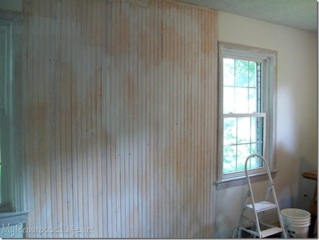update knotty pine with paint