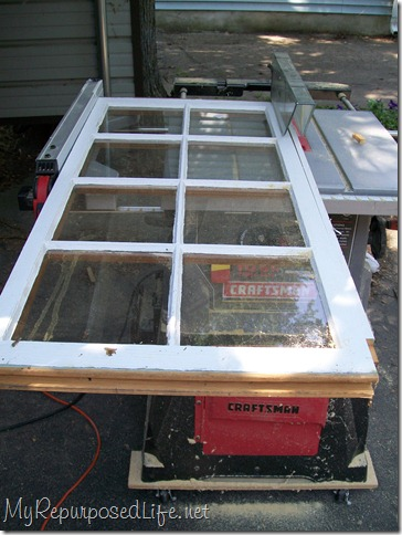 trim a window or a table saw