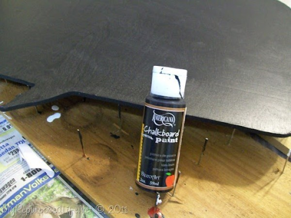 craft paint chalkboard paint