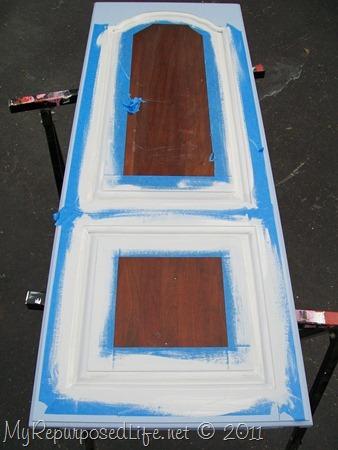 repurposed door into chalkboard (6)