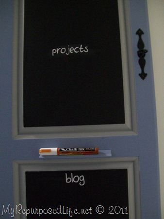 repurposed door into chalkboard (27)